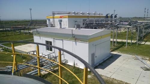 Блочно-модульная насосная станция для перекачивания нефтепродуктов